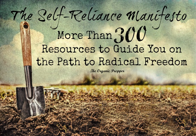 The-Self-Reliance-Manifesto - Organic Prepper