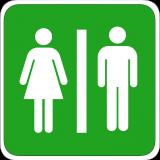 Bathroom Sign - Public Domain
