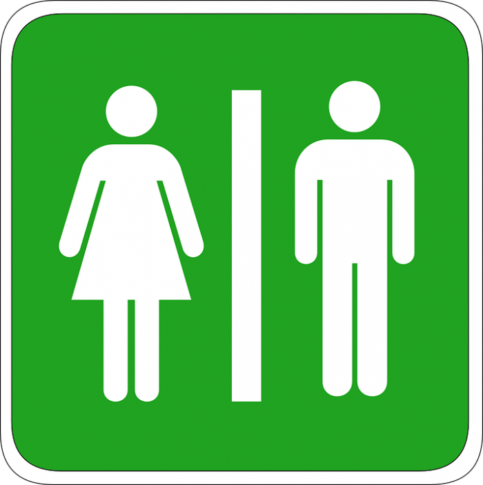 Bathroom Sign - Public Domain