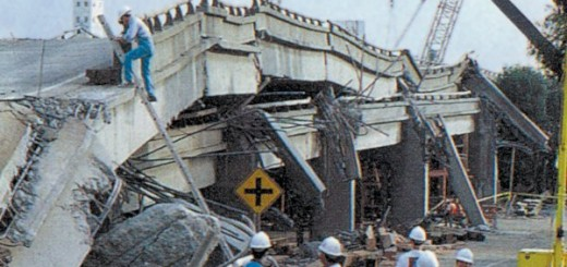 Earthquake Freeway Collapse