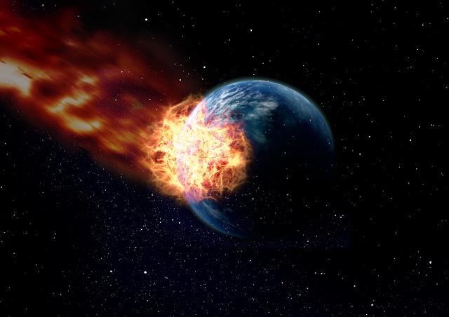 Meteor Earth - Public Domain