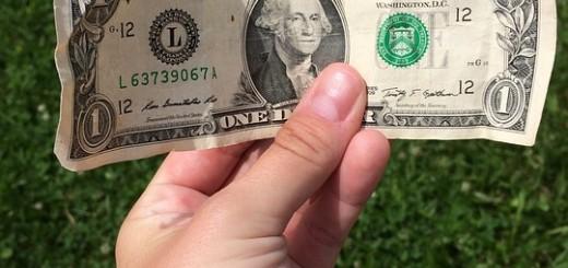 One Dollar Bill - Public Domain