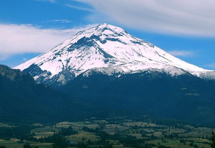 Popocatepetl - from Wikipedia