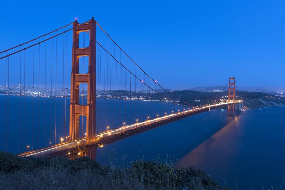The Golden Gate Bridge - Public Domain