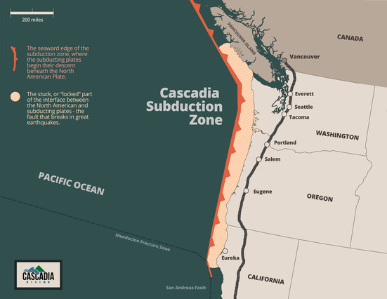 Cascadia Subduction Zone - FEMA