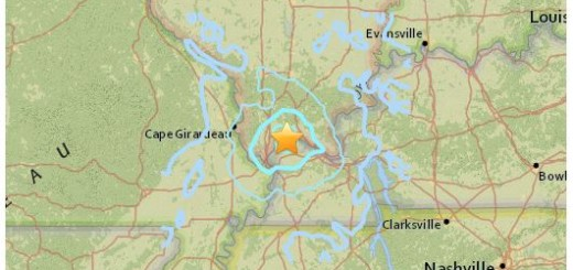 Kentucky 3.5 Earthquake