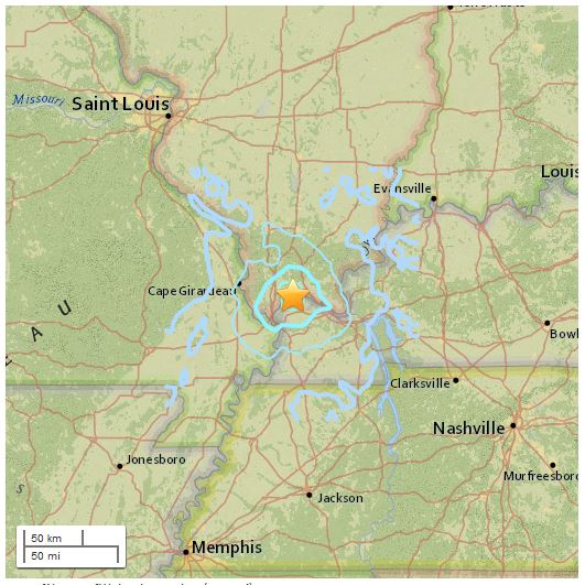 Kentucky 3.5 Earthquake