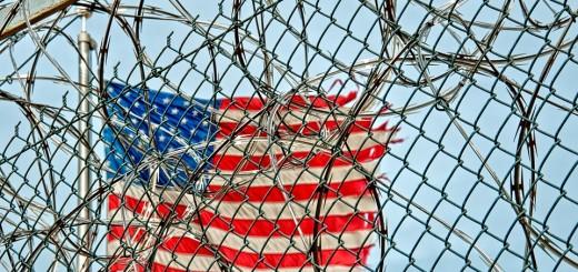 Prison Camp Flag - Public Domain