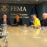 Barack Obama At FEMA - Public Domain