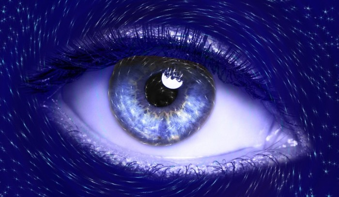 Blue Eye - Public Domain