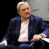 George Soros - Photo by Niccolo Caranti
