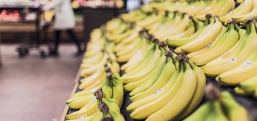 Supermarket Bananas - Public Domain