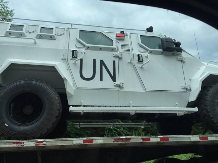 UN Vehicle - Jeff Stern