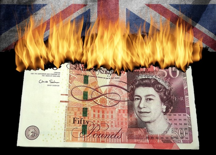 British Pound Brexit - Public Domain