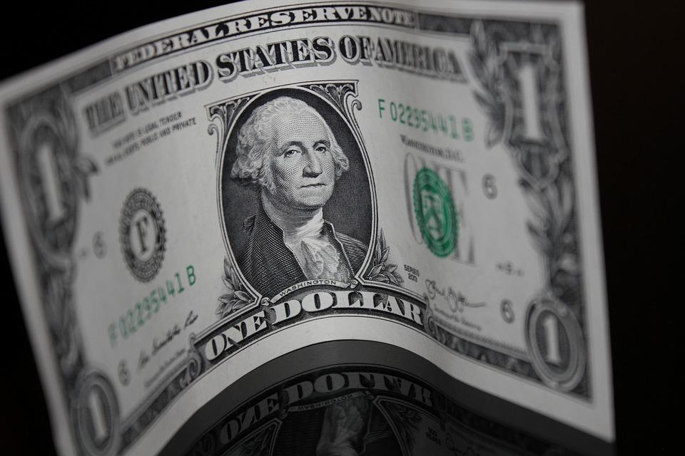 Dollar Bending - Public Domain