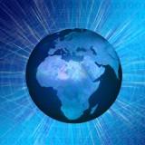 Globe Abstract - Public Domain