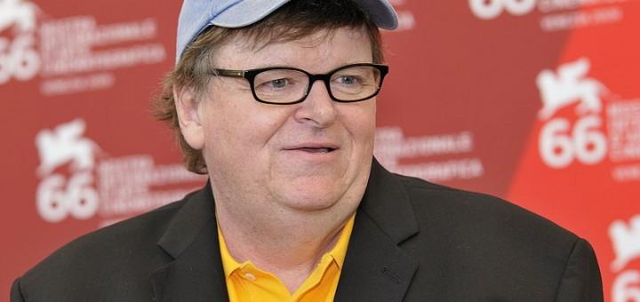 Michael Moore - Photo by Nicolas Genin