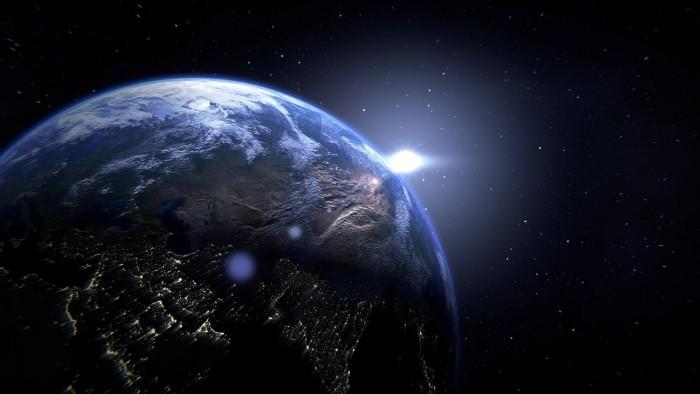 Planet Earth Globe Space - Public Domain