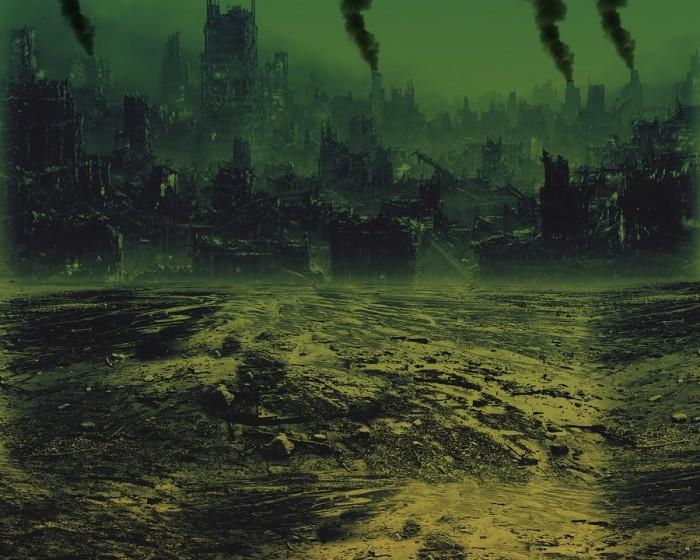 End Times Ruins Apocalypse - Public Domain