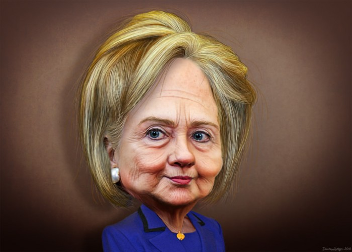 Hillary Clinton - Picture by DonkeyHotey