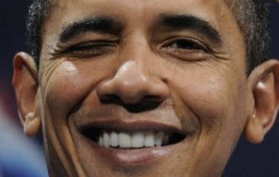 obama-smirking