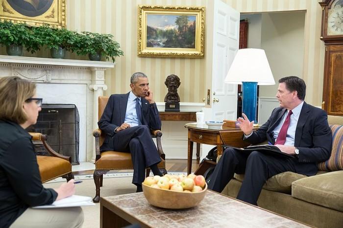 barack-obama-and-james-comey-public-domain