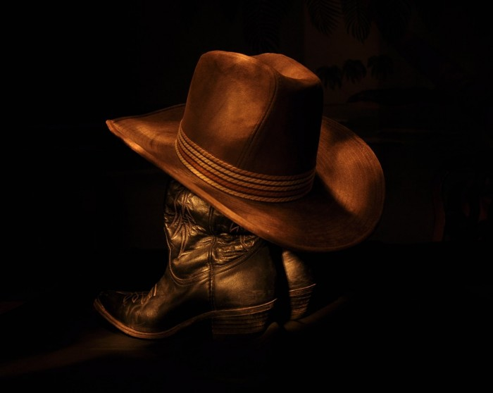 cowboy-hat-and-boots-public-domain