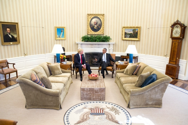 donald-trump-and-barack-obama-talking-in-the-oval-office-public-domain