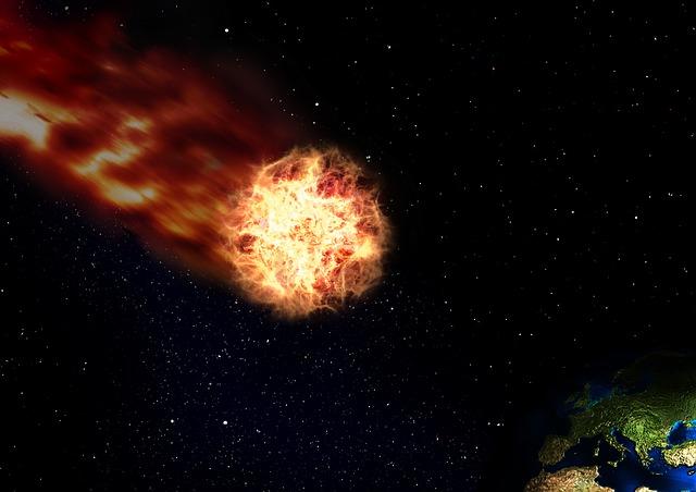 asteroid-meteor-public-domain