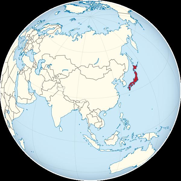 japan-on-the-globe