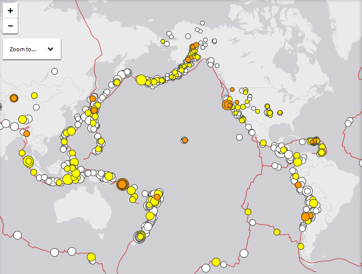 Latest earthquakes ring of fire usgs map the most important news latest earthquakes ring of fire usgs map gumiabroncs Choice Image