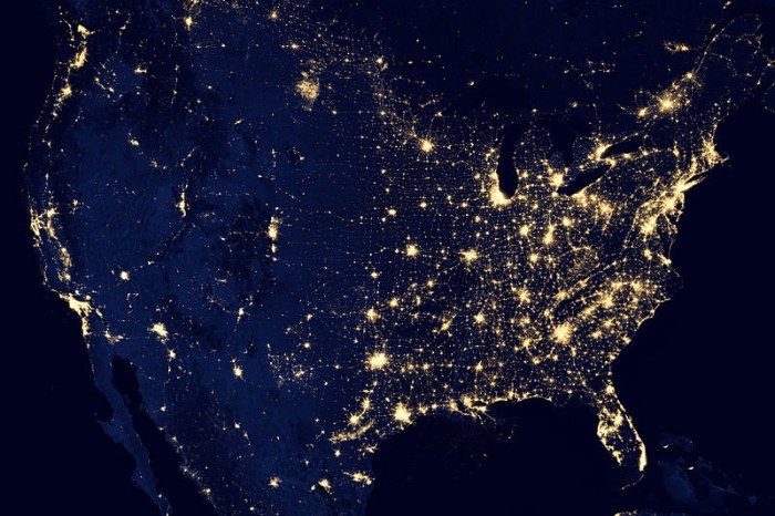 the-united-states-of-america-at-night