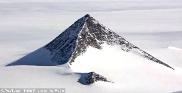 Antarctica Pyramid - YouTube