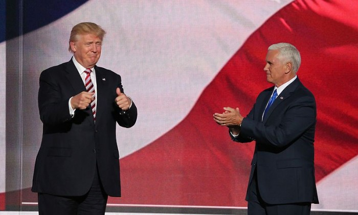 Donald Trump And Mike Pence - Public Domain