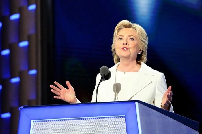 Hillary Clinton Accepts The Nomination - Public Domain