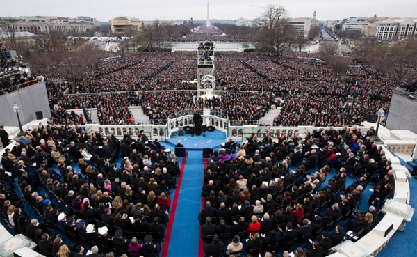 Inauguration - White House Photo by Chuck Kennedy