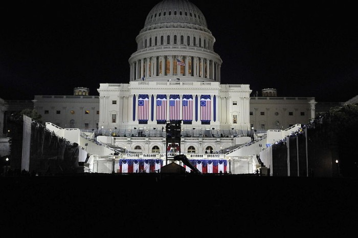 Night Before The Inauguration - Public Domain