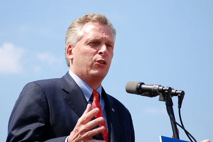 Terry McAuliffe - Photo by Kate Wellington