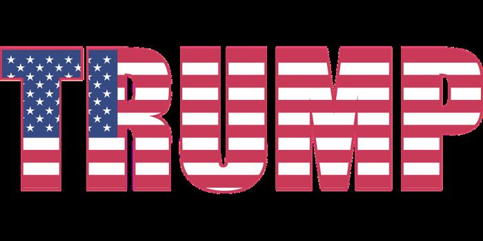 Trump Flag - Public Domain