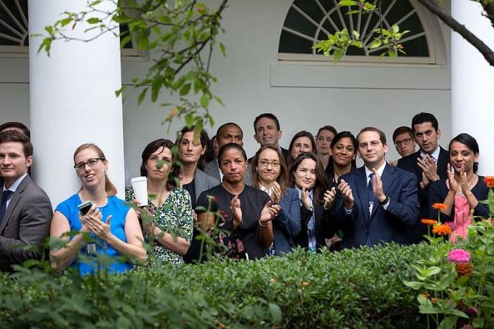 White House Staff - Public Domain
